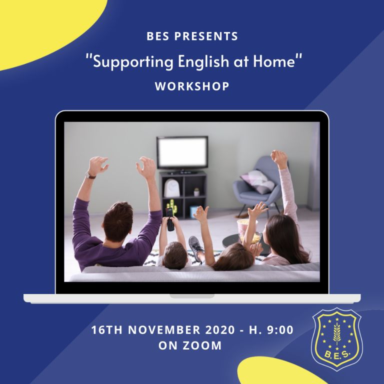 WORKSHOP: Supporting English at Home