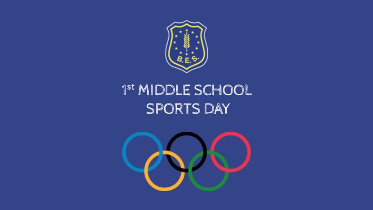 1st Middle School Sports Day